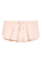 Short velour shorts - Powder - Ladies | H&M CA 2