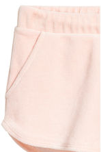 Short velour shorts - Powder - Ladies | H&M CA 3