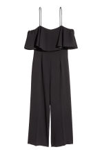 Ankle-length jumpsuit - Black - Ladies | H&M 2