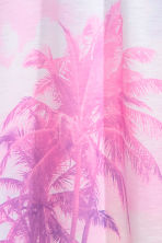 Patterned jersey dress - Pink/Palms -  | H&M CA 3