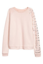 Sports top - Powder pink -  | H&M CA 2