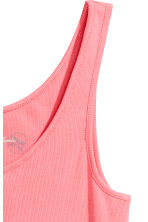 Ribbed vest top - Pink - Ladies | H&M 3