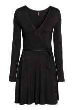 Wrap dress - Black - Ladies | H&M CA 2