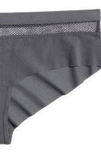Microfibre hipster briefs - Dark grey - Ladies | H&M 3