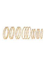 14-pack rings - Gold - Ladies | H&M CN 1
