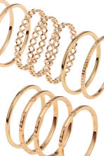 14-pack rings - Gold - Ladies | H&M 2