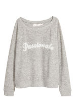 Sweatshirt - Grey marl - Ladies | H&M 2