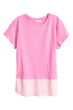 Short-sleeved top - Pink - Ladies | H&M 2