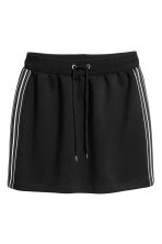 Short skirt - Black - Ladies | H&M CN 2
