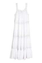 Maxi dress - White - Ladies | H&M 2