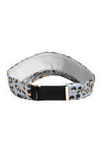 Visor - Grey/Leopard print - Ladies | H&M 2