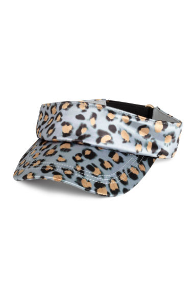 Visor - Grey/Leopard print - Ladies | H&M 1