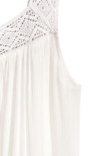 H&M+ Dress with lace - White -  | H&M 3