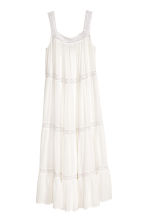 H&M+ Dress with lace - White - Ladies | H&M CN 2