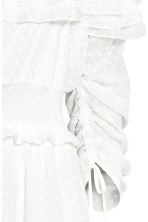 One-shoulder dress - White/Spotted - Ladies | H&M CA 3