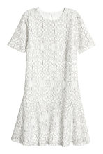 Lace dress - White - Ladies | H&M CA 2