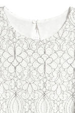 Lace dress - White - Ladies | H&M 3