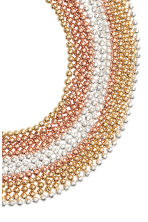 Multistrand bracelet - Rose gold - Ladies | H&M CA 2