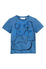 Set van 2 T-shirts - Wit/The Jungle Book - KINDEREN | H&M NL 2