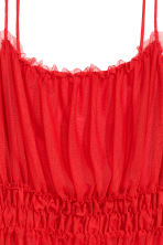 Top in tulle - Rosso - DONNA | H&M IT 3