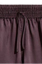 Silk shorts - Plum -  | H&M IE 3