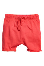 Shorts in jersey - Rosso corallo -  | H&M IT 1