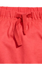 Shorts in jersey - Rosso corallo -  | H&M IT 2