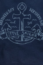 3-pack T-shirts - Dark blue/Anchor - Kids | H&M 4