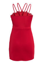 Lace dress - Red - Ladies | H&M CN 3