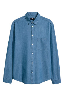 Chemise en jean Regular fit