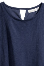 Wide top - Dark blue - Ladies | H&M 3