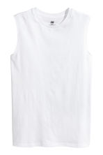 2-pack vest tops - Black -  | H&M 2