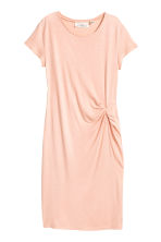 Short dress - Powder pink - Ladies | H&M IE 2