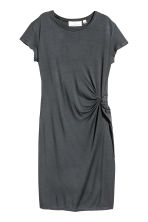 Short dress - Dark grey - Ladies | H&M CN 2