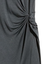 Short dress - Dark grey - Ladies | H&M CN 3