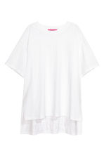 Oversized T-shirt - White - Ladies | H&M 2