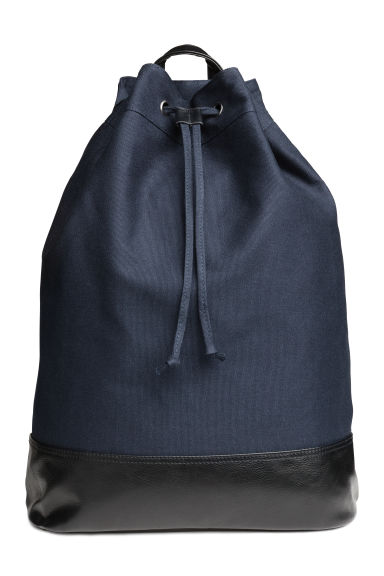 Backpack - Dark blue - Men | H&M CN 1