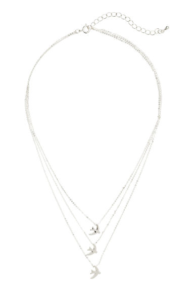 Necklace with pendants - Silver - Ladies | H&M 1