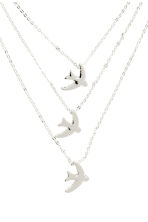 Necklace with pendants - Silver - Ladies | H&M 2