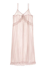 Glittery mesh dress - Powder pink - Ladies | H&M 2