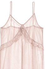 Glittery mesh dress - Powder pink - Ladies | H&M 3