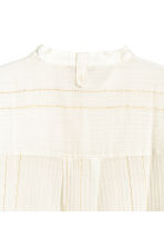 H&M+ Cotton blouse - Natural white/Gold - Ladies | H&M 3