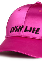 Satin cap - Cerise - Ladies | H&M 3