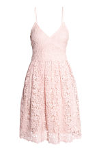 Lace dress - Light pink - Ladies | H&M CN 2