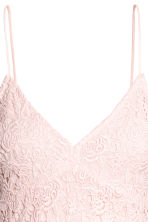 Lace dress - Light pink - Ladies | H&M 3