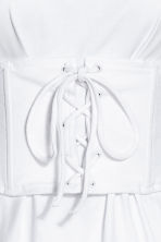 Corset top - White - Ladies | H&M CA 3
