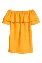 Off-the-shoulder dress - Orange - Ladies | H&M 2