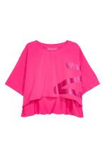 Cropped T-shirt - Cerise - Ladies | H&M 2