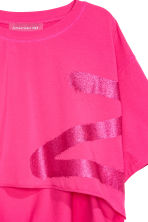 Cropped T-shirt - Cerise - Ladies | H&M 4