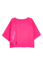 Cropped T-shirt - Cerise - Ladies | H&M 3